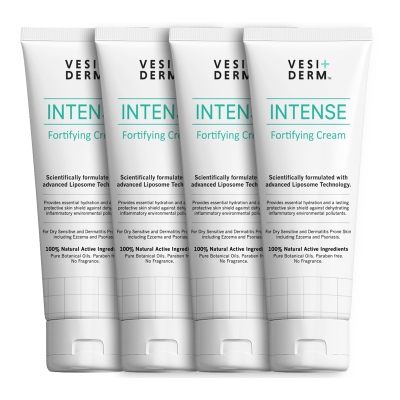 Vesiderm Intense Fortifying Cream Family Pack(4 x 75ml)